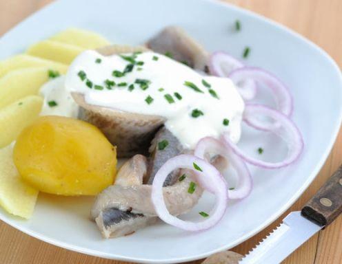 Matjessalat nach Hausfrauen Art - Rezept - ichkoche.at