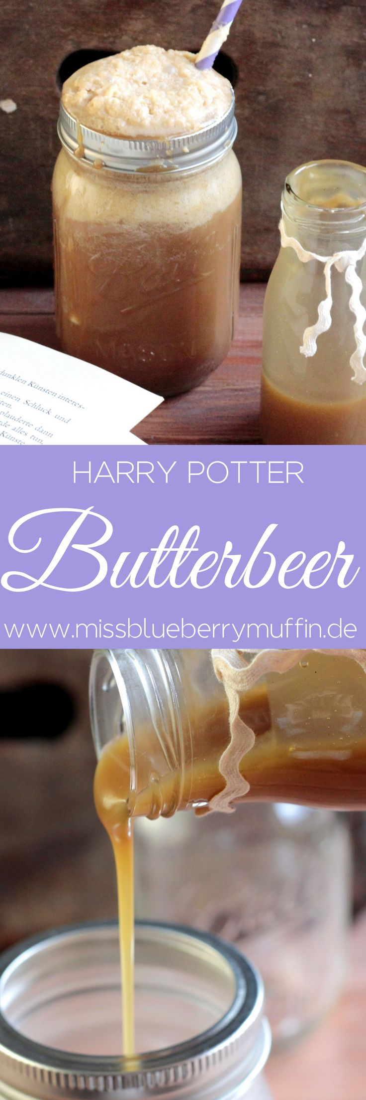 Mein Rezept Fur Butterbier Harry Potter Butterbeer 3