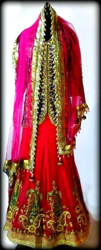 beautiful outfit designed by manchaali