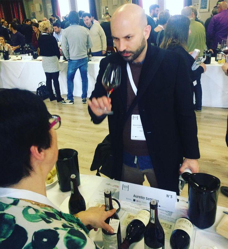 #Barolo summit  @aureliosettimo & @italianwinelover #wine #winelover #grandilanghe #longawaited #finally #top #vino #vinoitaliano #lamorra #nebbiolo #aureliosettimo #rocchedellannunziata #winetasting
