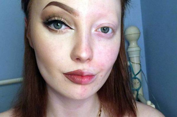 Before And After Makeup Results From A British Teenager : theBERRY
