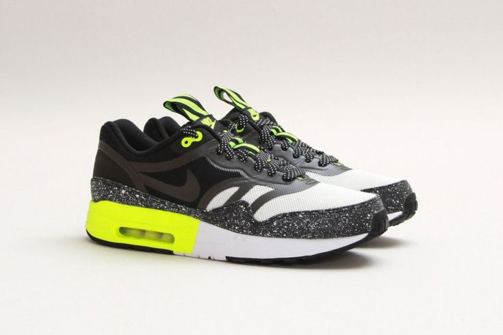 "Nike Air Max 1 PRM Tape - ""Summit White/Black/Volt"""