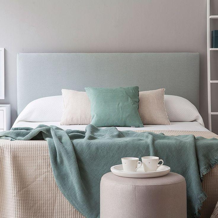 Las 25 mejores ideas sobre cabeceros tapizados en - Cabeceros cama tela ...