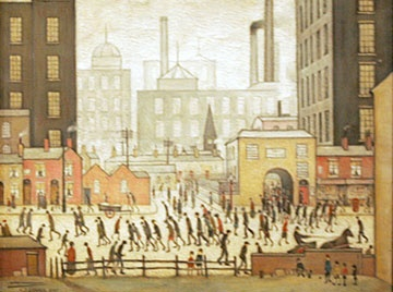 L S Lowry painting