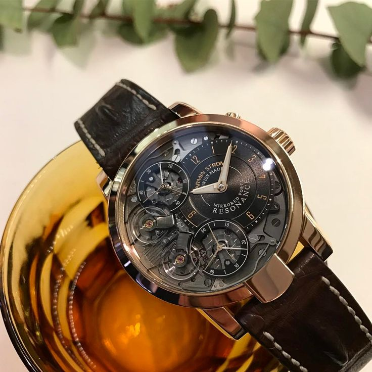 """478 Likes, 5 Comments - Armin Strom Swiss Watches (@arminstrom) on Instagram: """"Have a nice weekend #resonance #gold"""""""