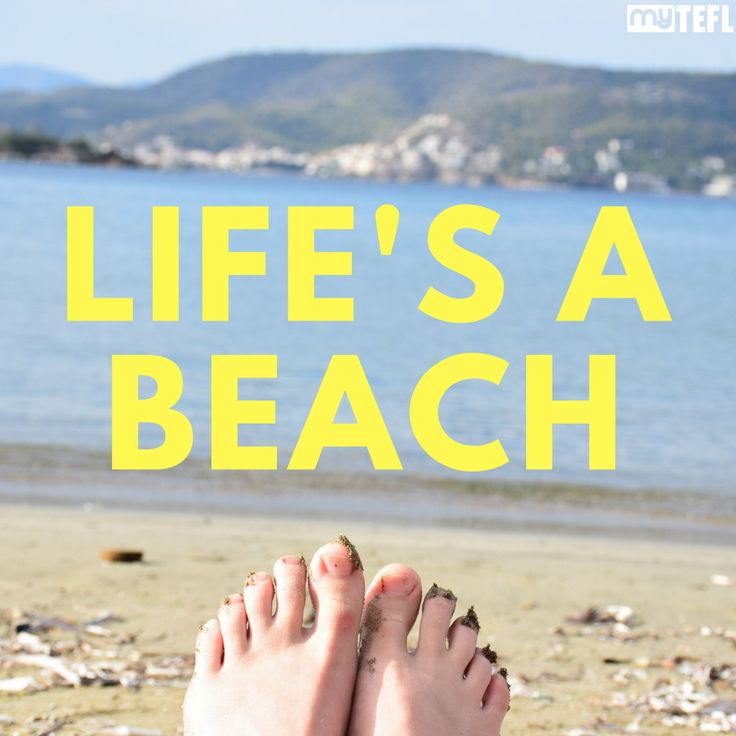 Life's a beach…especially when you're TEFL qualified. #TEFL #TESOL #getqualified #travel #explore #Europe #Asia #SouthAmerica #SoutheastAsia #beach #beachlife #adventure #travelers #travellife #diginomad #sea #ocean #beauty #TEFLtravel #RTW #RTWbackpackers