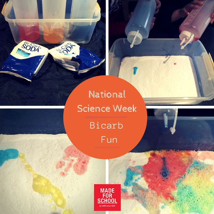 National Science Week 2014 kicks off this week so the kids and I got busy with some bicarb.  This is a great easy, fun and clean science activity for the kids.  Have some science fun this week - Natalie
