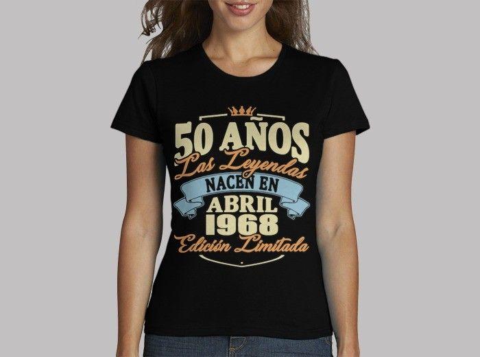 e9c47e97fb45f Camiseta 50 años abril 1968. - nº 1758275 - Mujer
