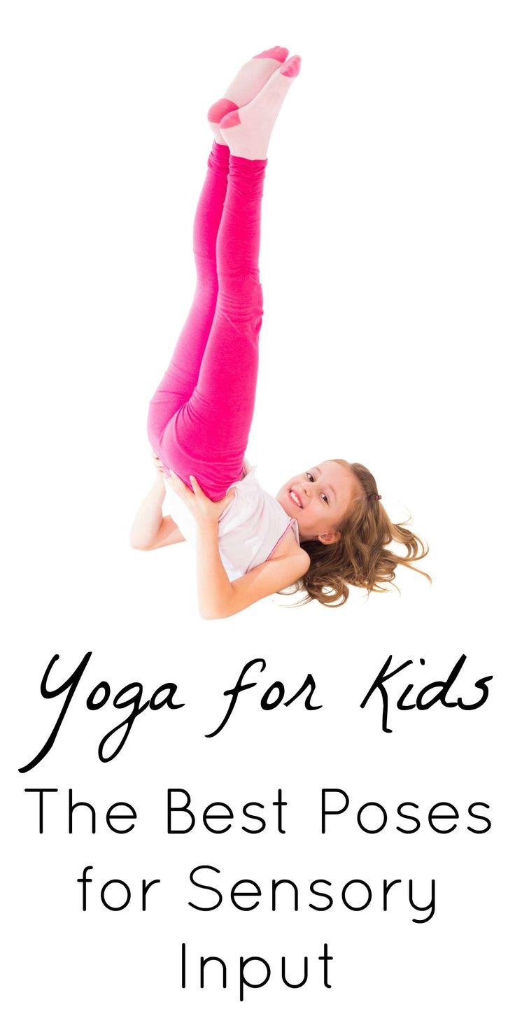 Yoga for kids - the best poses for sensory input