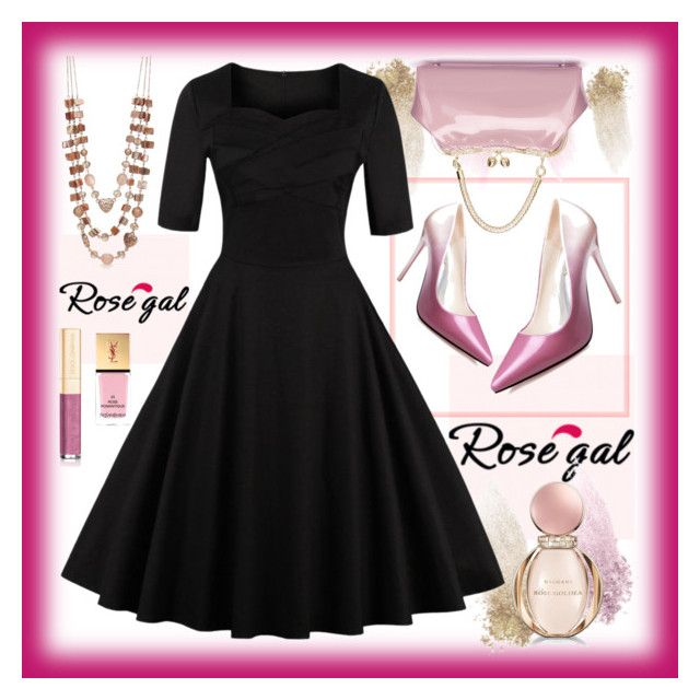 Win $20 Cash from Rosegal! by amisha73 on Polyvore featuring polyvore, fashion, style, Kim Rogers, NARS Cosmetics, Dolce&Gabbana, Bulgari, Yves Saint Laurent and clothing