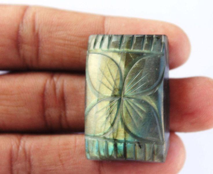 Labradorite Hand Carving Gemstone 92.1 CTS Wholesale Gemstone Cabochon Natural Gemstone for Wirewrapping DIY Ring Pendants Jewelry Supplies http://etsy.me/2zfCfte #supplies #blue #anniversary #christmas #cushion #beading #semipreciousgems #labradorite #labradoritestone