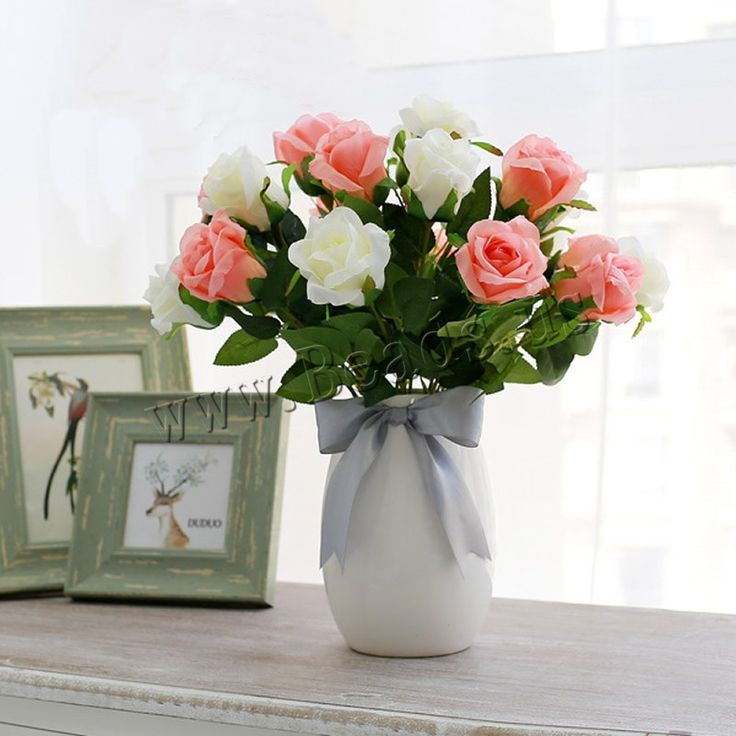 Artificial Flower Home Decoration, Spun Silk
