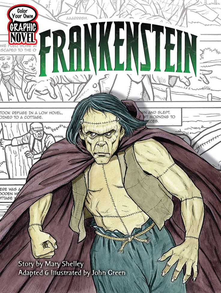Find Color Your Own Graphic Novel Frankenstein - by John Green ( 9780486474151 ) Paperback and more. Browse more  book selections in Activity Books - General books at Books-A-Million's online book store