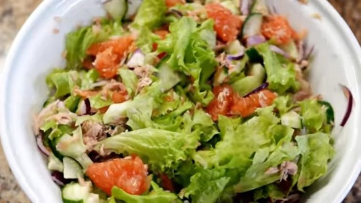 Вечерний салат для сжигания жира: для тех, кто планирует похудеть