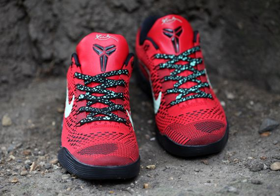 Lowest Price Nike Kobe 9 Cheap sale ID Red October