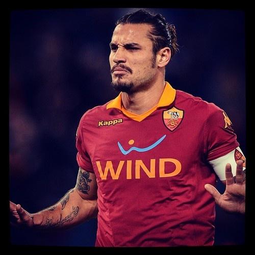 I got this. #Osvaldo before Roma Torino PK