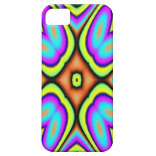 Colorful trendy abstract pattern iPhone 5/5S cover