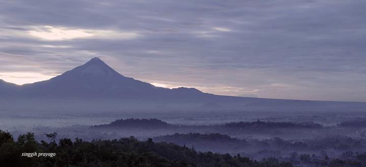 Mount Merapi, Central Java