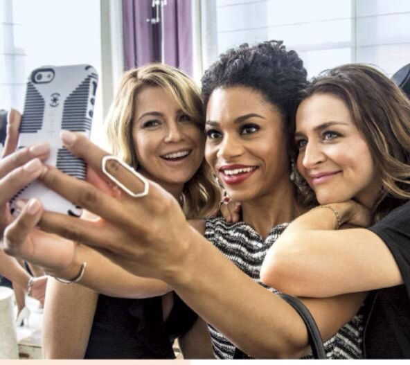 Caterina Scorsone / Ellen Pompeo / Kelly McCreary