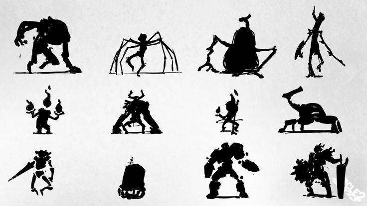 Random monster rough concepts