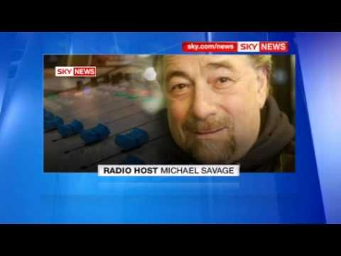 Michael Savage in Phone Interview with Sky News Regarding UK Ban - May 6...