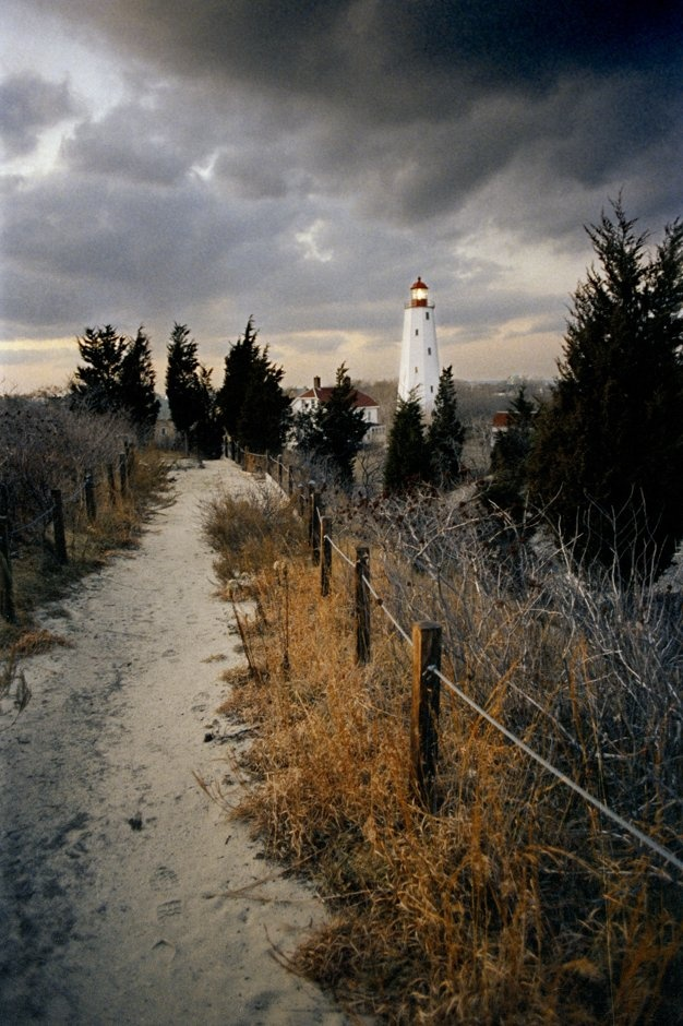 Sandy Hook - my Jersey beach spot...2 lighthouses, historic Fort Hancock, walking and biking trails and THE beach ;0)