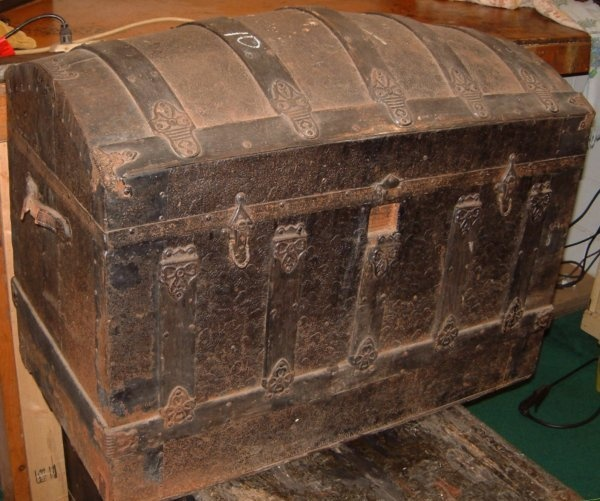 Treasured Chests Has Been Restoring, Selling And Researching Antique Trunks  And Chests Since