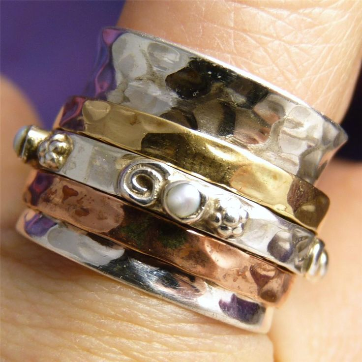 how to make a spinner ring