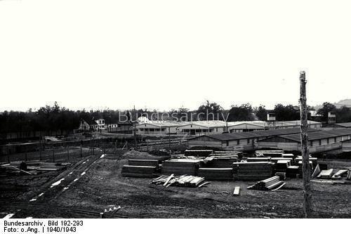 Österreich.- Konzentrationslager Mauthausen, Aufbau des Lagers Gusen, 1940-1943