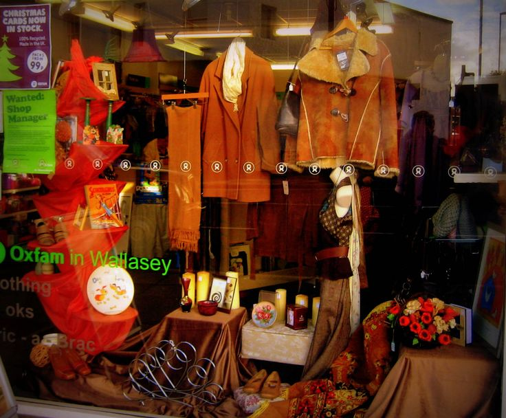Themed autumn window