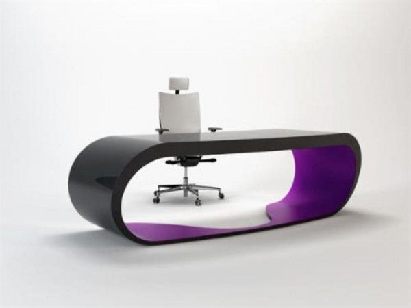 Minimal but very futuristic desk