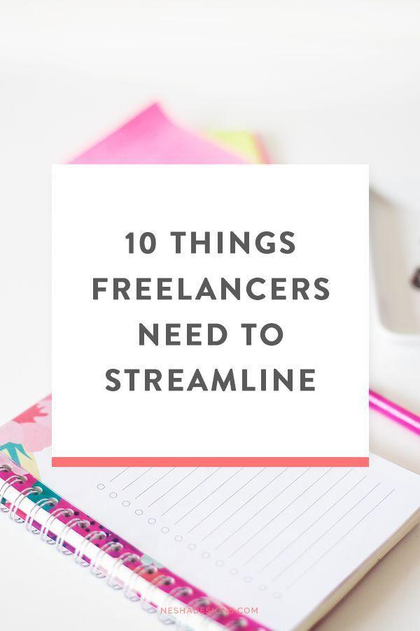 10 things designers need to streamline