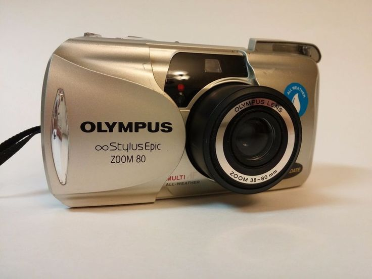 Olympus Infinity Stylus Epic Zoom 80 AF Point and Shoot 35mm Camera #Olympus