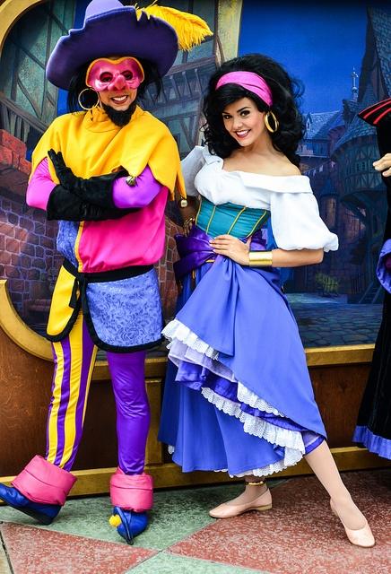 Clopin and Esmeralda  ~ Hunchback of Notre Dame - Disneland