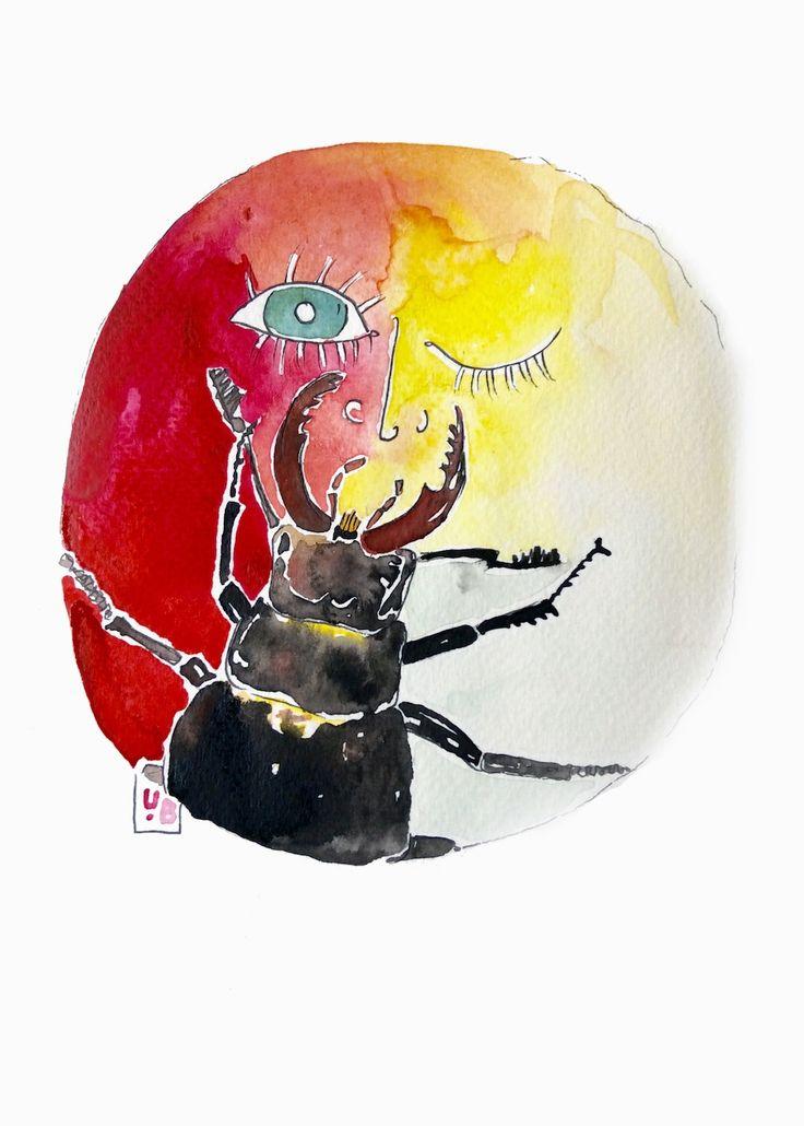 inthetravelspace illustration by ugnebalc