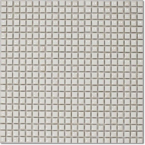 Dell'Arte - mozaiki dekoracyjne White Velvet 11,5 (plaster 30x30)