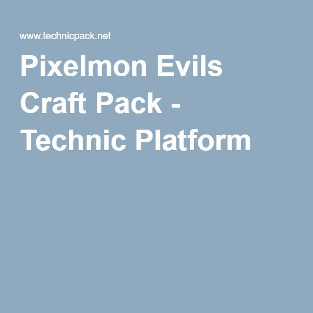 Pixelmon Evils Craft Pack - Technic Platform
