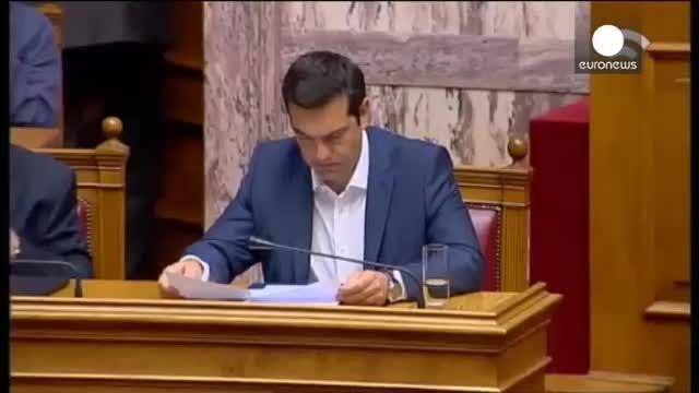 Dette grecque : Tsipras dit non au projet «absurde» de ses créanciers