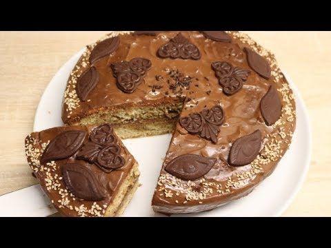 (30) GÂTEAU CRÉMEUX AU CAFÉ ET CHOCOLAT FACILE CUISINERAPIDE) - YouTube