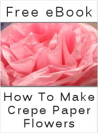 Over 45 free tutorials for making various types of paper flowers. You can learn how to make flowers out of plain, recycled, crepe, magazine, tissue, origami, boiled, construction, decorative and parchment paper.