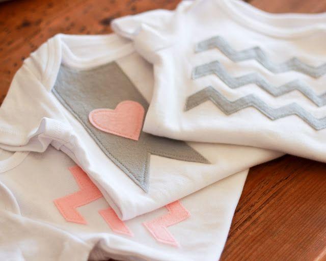 Baby onesie DIY
