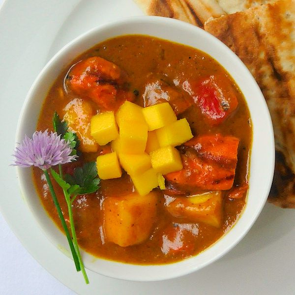 how to cook mango curry
