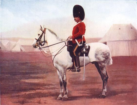 Colour plate.....2nd Dragoons (Royal Scots Greys) 1900
