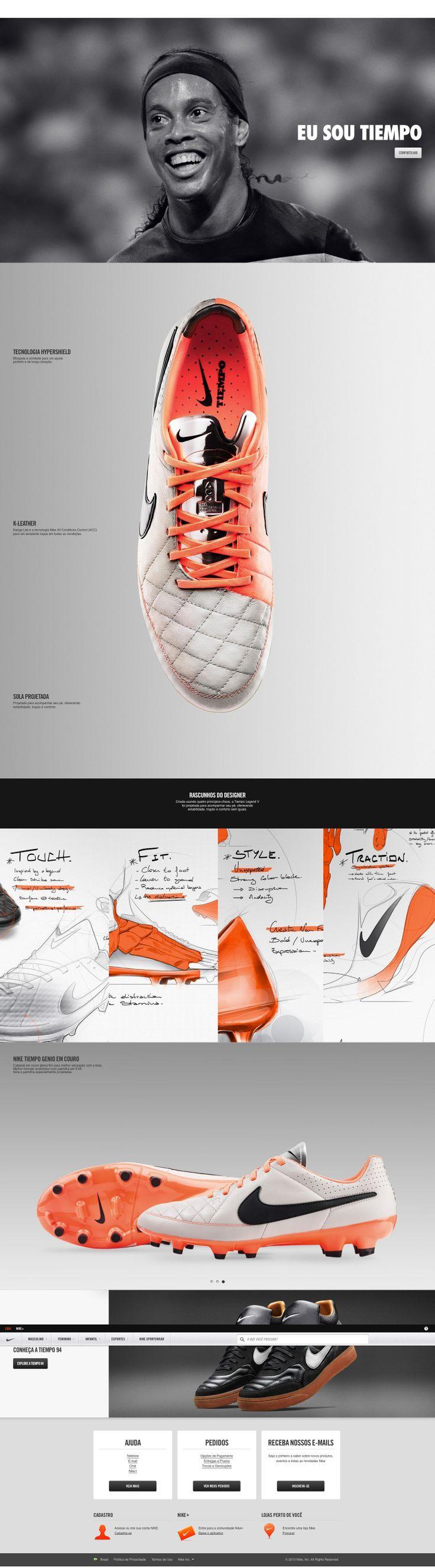 Nike Tiempo Legend V. Nike.com (BR)