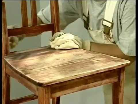 Лессировка деревянных поверхностей - YouTube