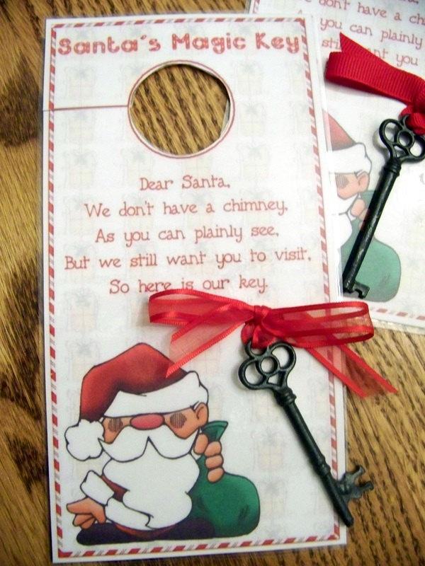 santa key, magic santa k