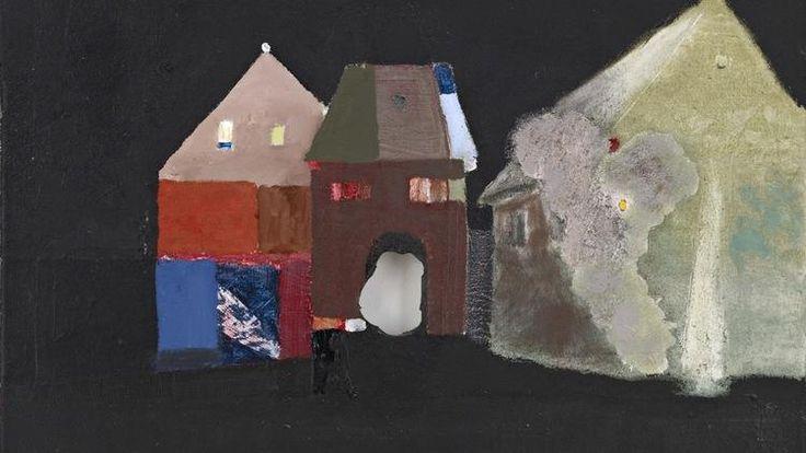 'Buildings' (by Merlin James)
