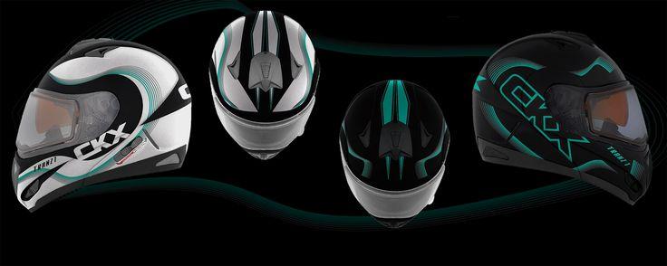 New 2017 CKX  Tranz helmet graphic concept.