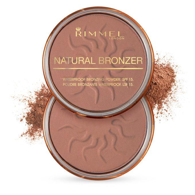 Pó Bronzeador Natural Bronzer - Sun Bronze   Rimmel London