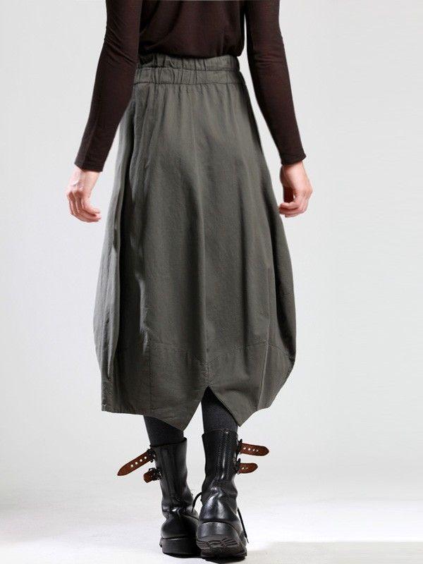Cotton Ballon Skirt by LURDES BERGADA